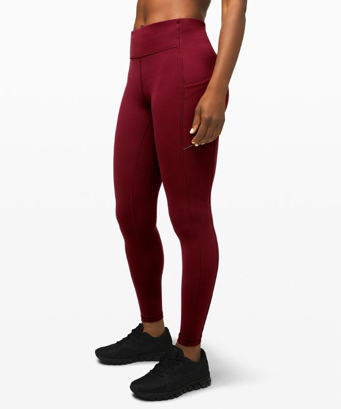 Legging Speed Up Taille moyenne 71 cm *Brossé