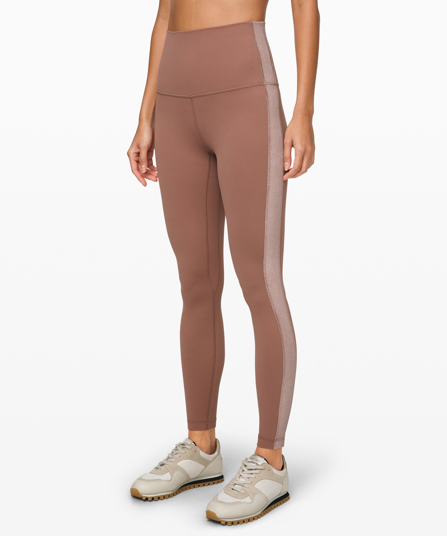 SPECIAL EDITION: We added a  touch of velvet to these  lightweight, super-high-rise  tights, designed to minimize  distractions and maximize  comfort as you flow through  your yoga practice.
