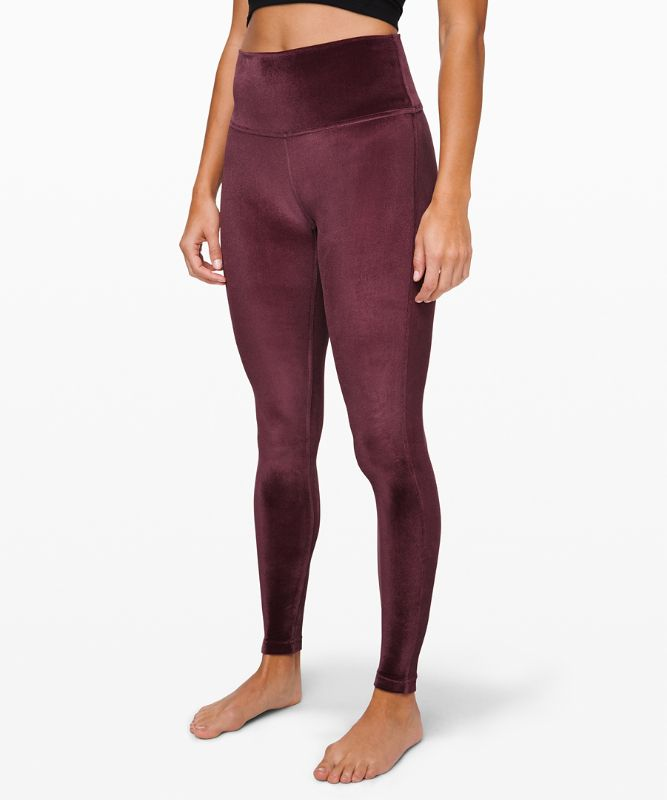 "Wunder Lounge High-Rise Tight 28"" *Velvet"