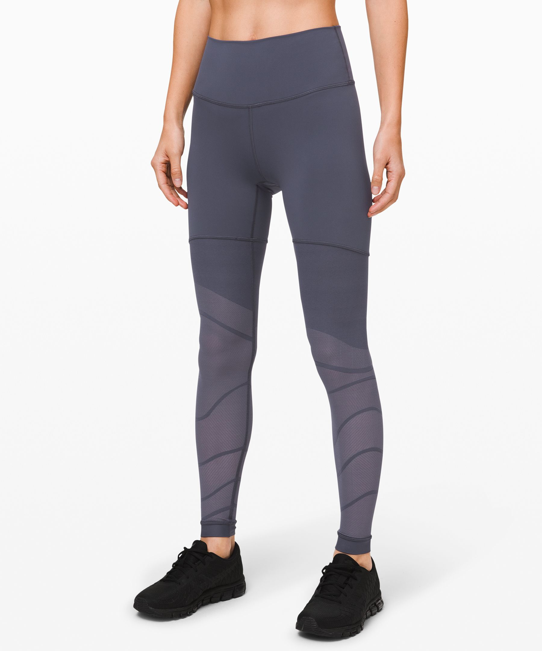 Sweat hard and breathe easy in  these Naked Sensation tights  made with smooth technical  fabric and engineered  ventilation with a gradient  effect to help keep you cool  when your workout heats up.
