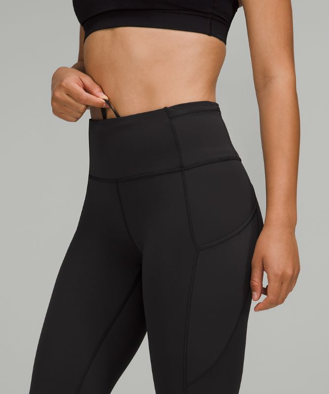"Fast and Free High-Rise Tight 28"" *Non-Reflective Brushed Nulux"