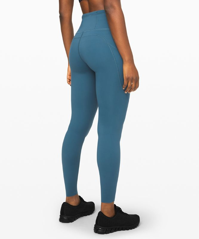 "Fast and Free High-Rise Tight 28"" *Brushed Nulux™"