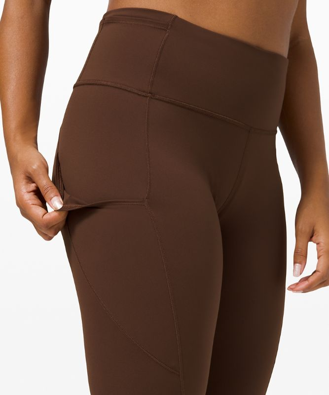 """Fast and Free High-Rise Tight 28"""" *Non-Reflective Brushed Nulux"""
