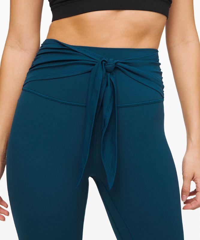 Align Pant 7/8 Wrap Waist *Asia Fit