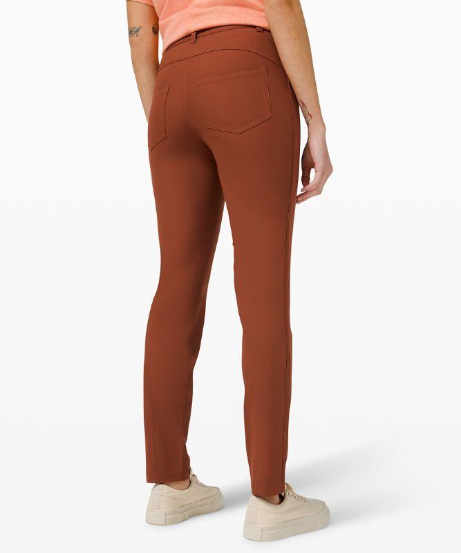 Pantalon taille haute 5poches City Sleek 76cm
