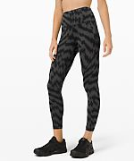 "LuluLemon 25"" Wunder Train High-Rise Tight"