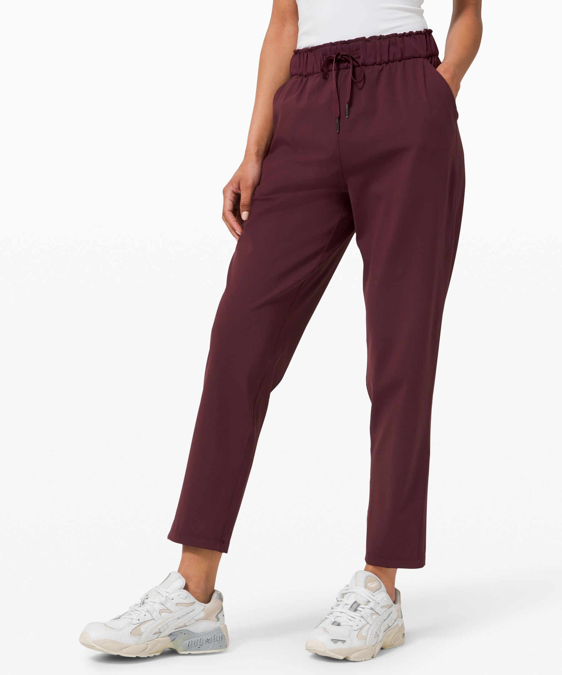 Whether you\\\'re hopping on a  plane or riding the subway,  these versatile,  relaxed-fitting pants have you  covered.