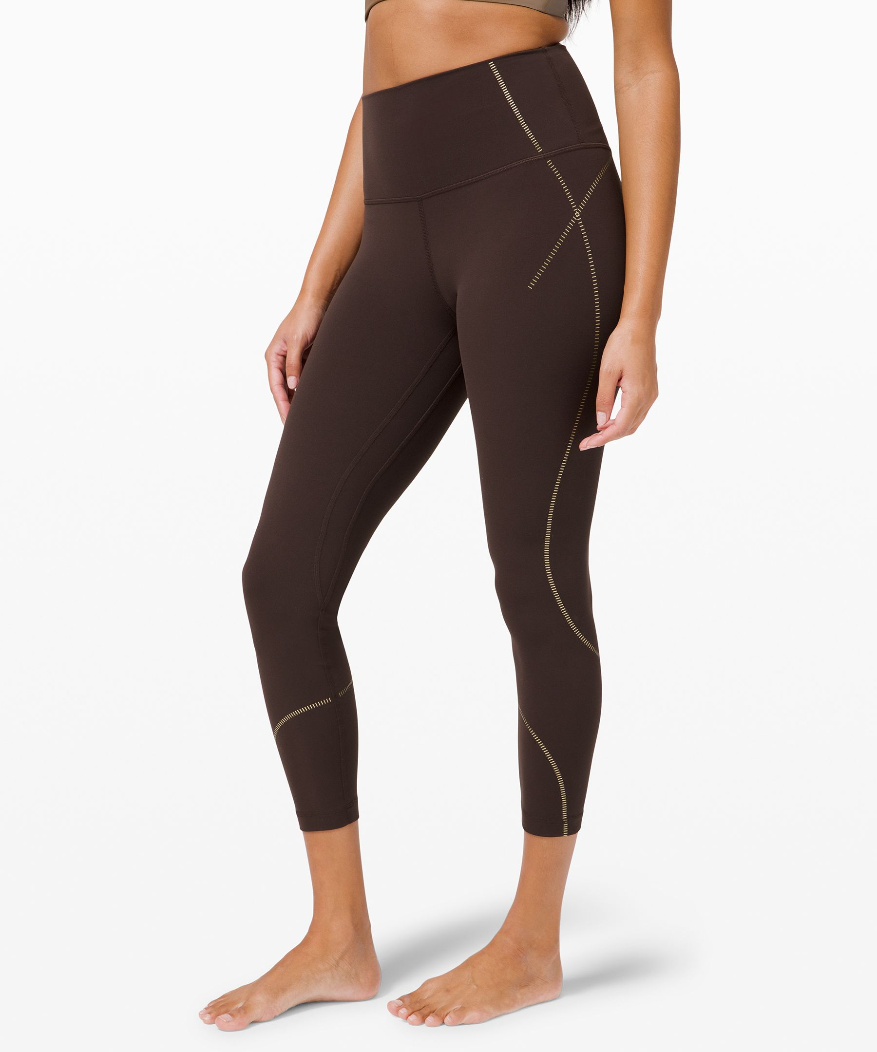 Align High-Rise Pant 25 Gold