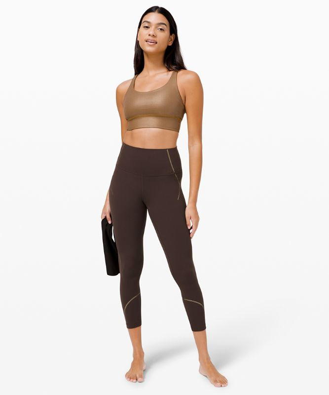 """Align High-Rise Pant 25"""" *Gold"""