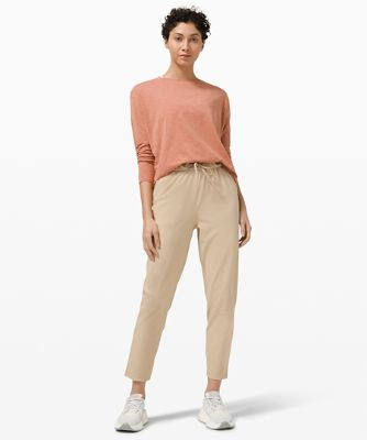Stretch High-Rise 7/8 Pant