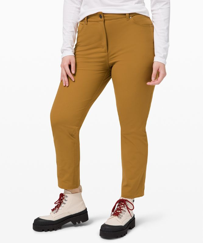 City Sleek 5 Pocket 7/8 Pant