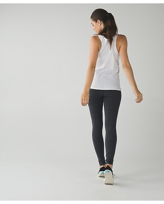 wunder under pant *cotton (roll down) | women's yoga pants | lululemon athletica