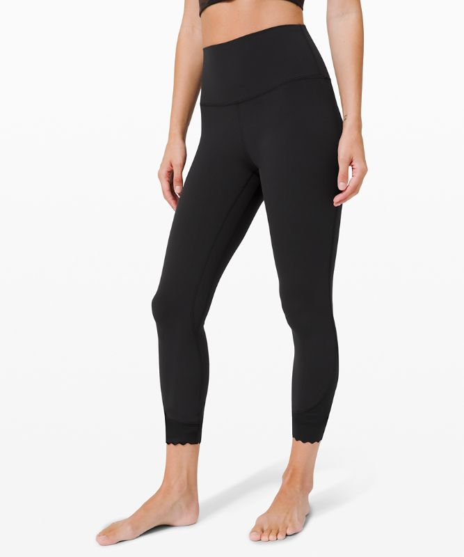 "Align HR Pant 25"" *Scallop"