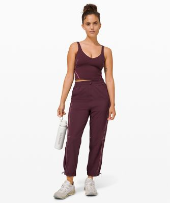 Contoured Curves Track Pant