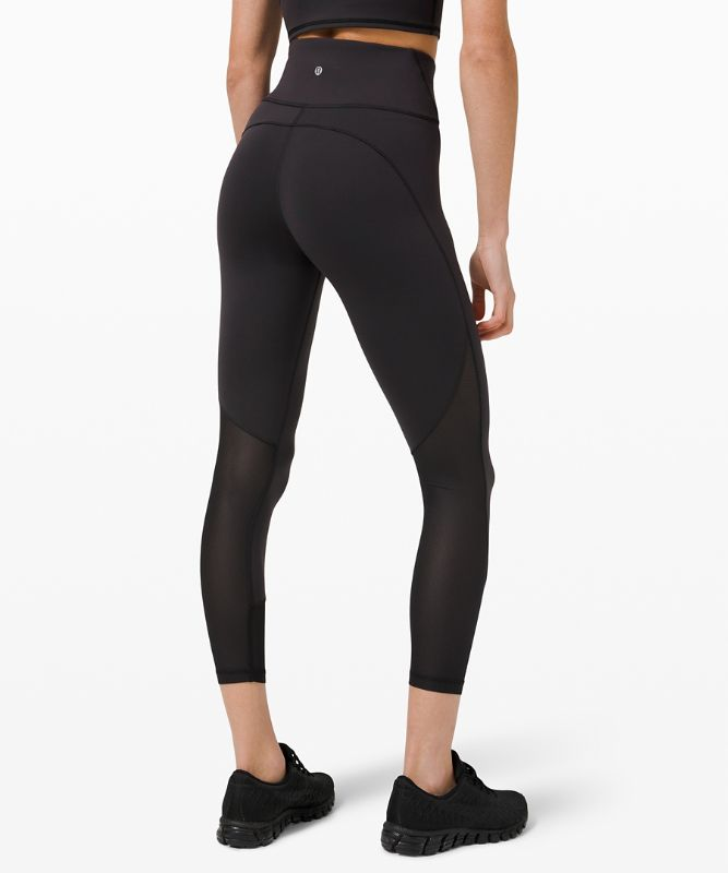 Everlux™ and Mesh High-Rise Tight 25""