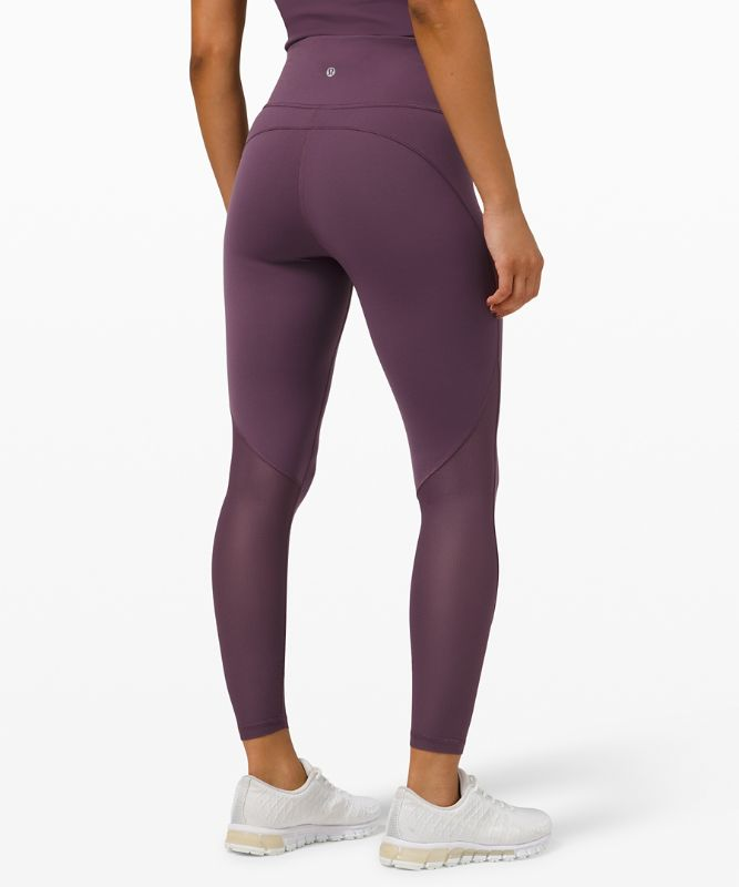 """Everlux™ and Mesh High-Rise Tight 25"""""""