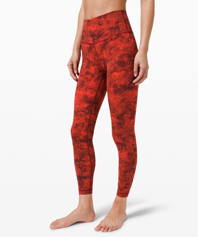 """Wunder Under High-Rise Tight 25"""" Full-On Luxtreme *Lunar New Year"""