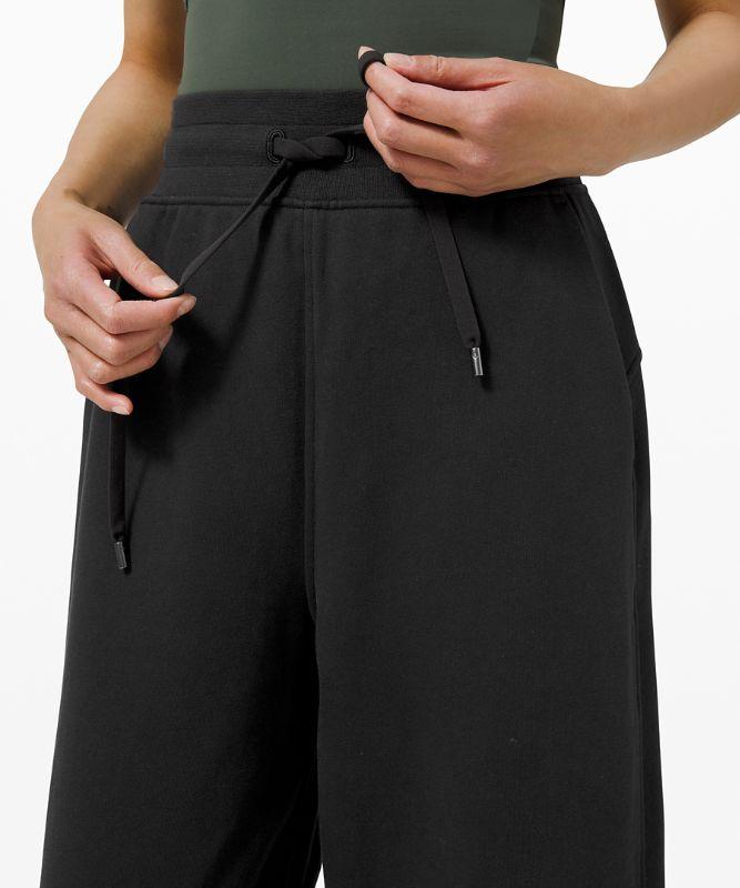 Pantalon de jogging décontracté en tissu French Terry