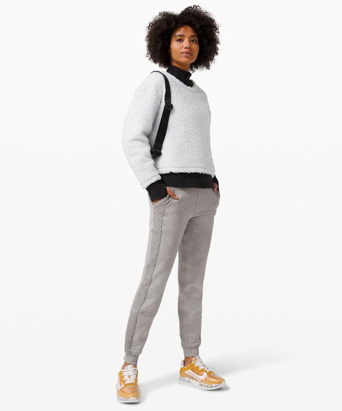 Pantalon de jogging Scuba *Sherpa Stripe
