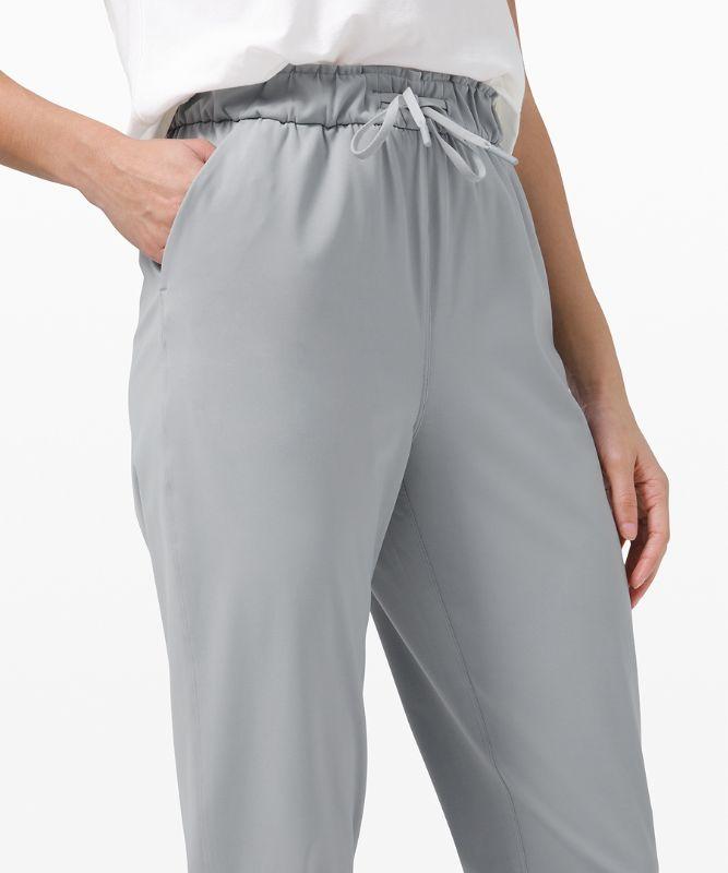 Stretch High-Rise 7/8 Pant