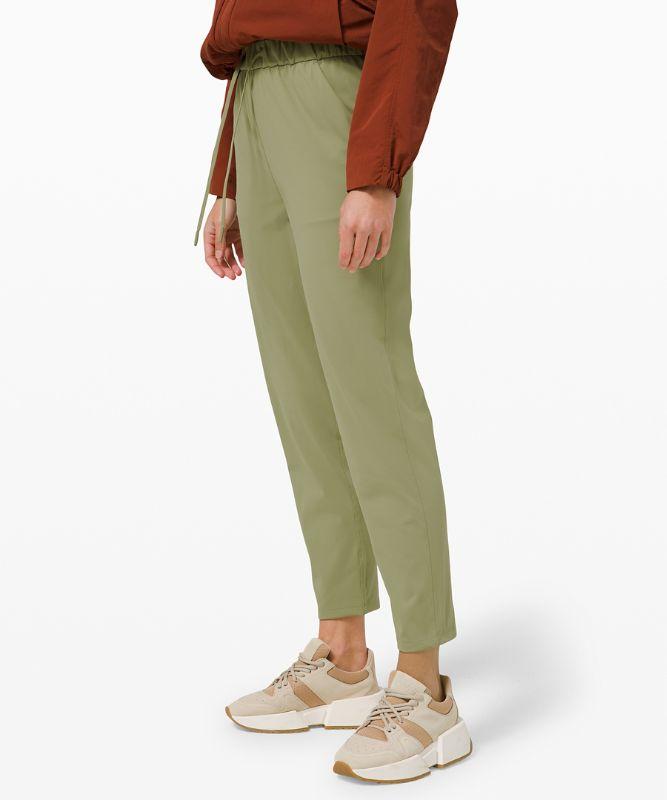 Pantalon 7/8 extensible taille haute