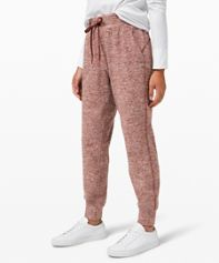 Ready To Rulu Fleece Jogger *Asia Fit