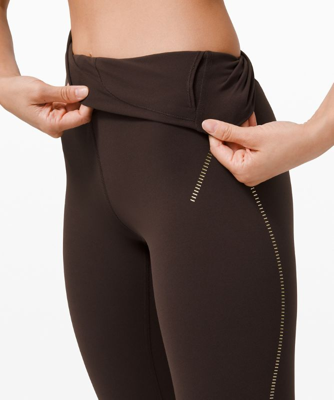 """Align High-Rise Pant 24"""" *Gold"""