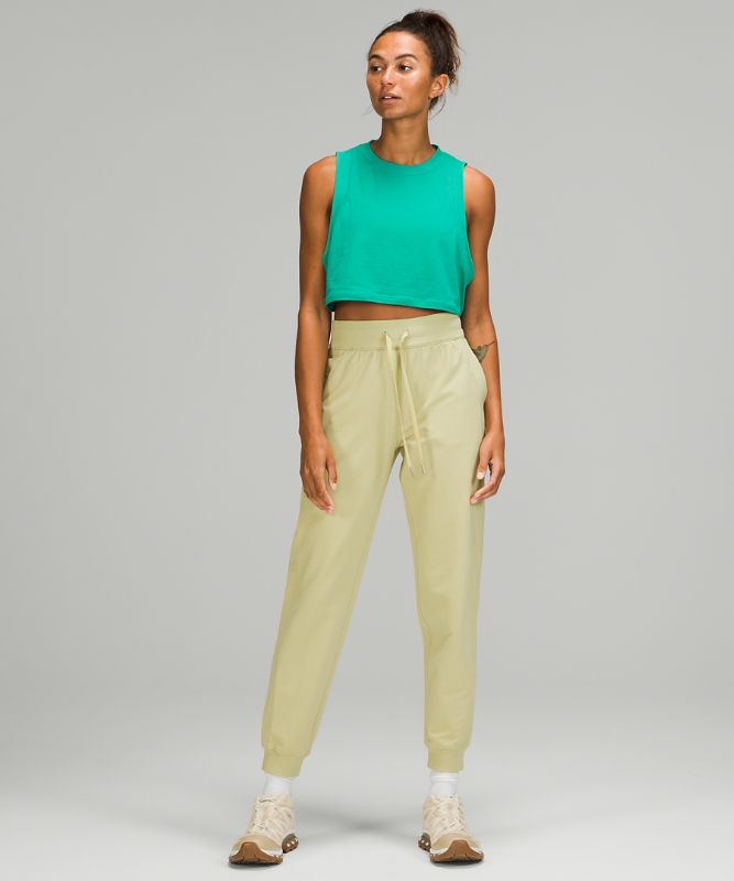 Scuba French Terry High-Rise Jogger