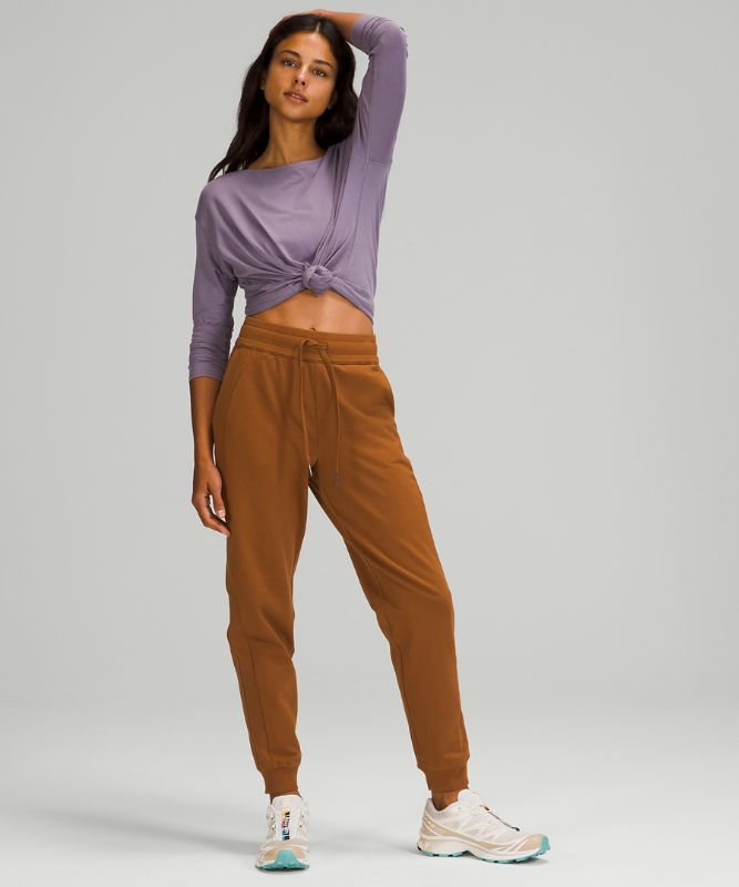 Scuba High-Rise French Terry Jogger