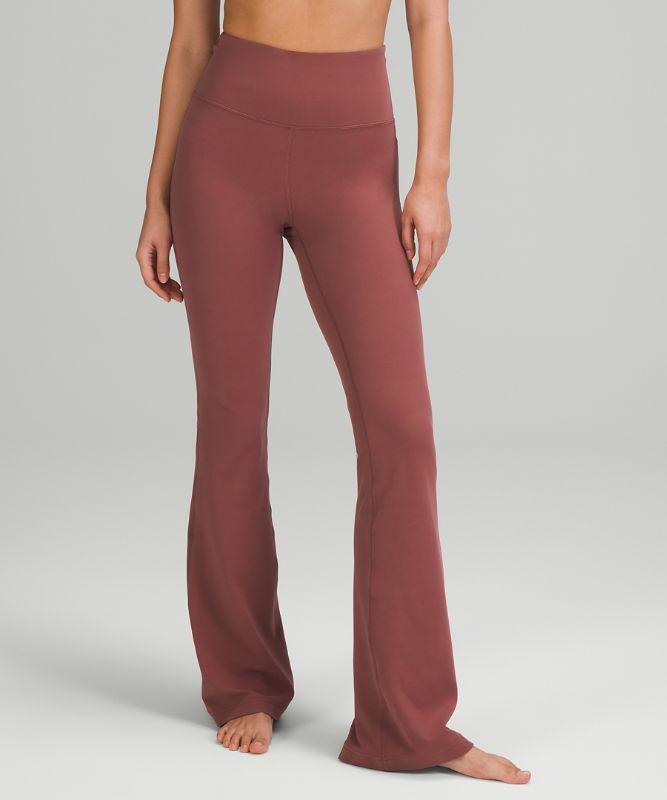 Pantalon Groove taille très haute évasé *Nulu