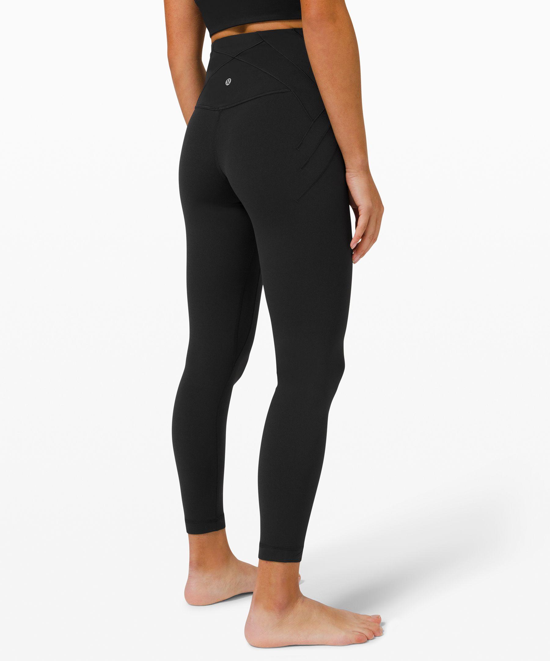 """Nulu™ Fold High-Rise Yoga Tight 24"""""""