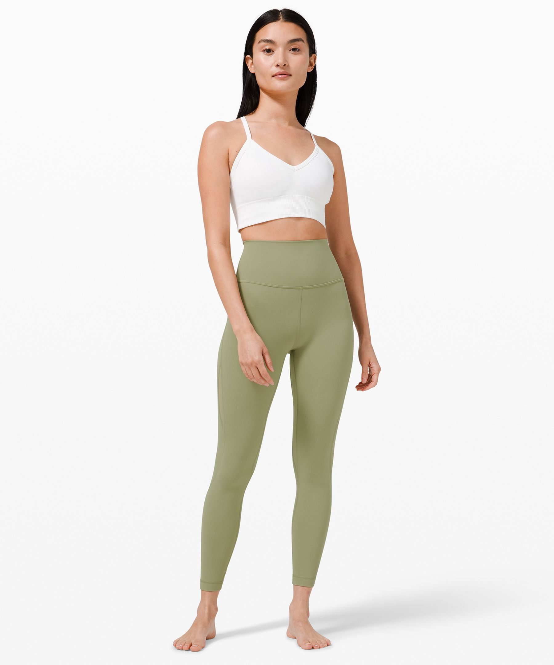 "Nulu™ and Mesh High-Rise Tight 24""  *Asia Fit"