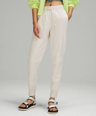 French Terry High-Rise Slim Jogger