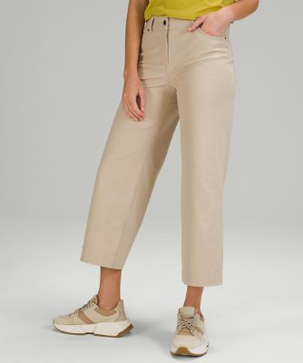 City Sleek 5 Pkt Wide Leg Pant
