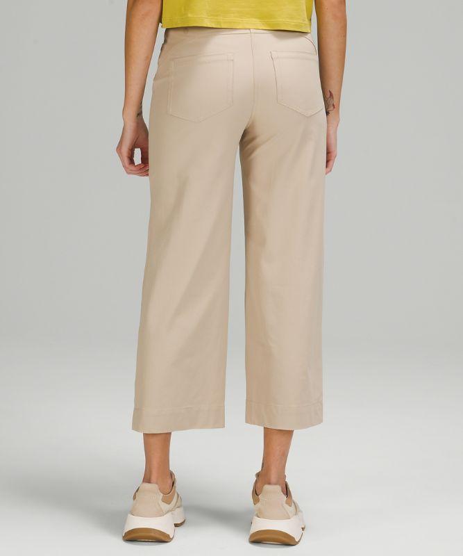 City Sleek 5 Pkt Wide Leg Pant