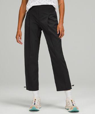 Cotton-Blend Twill 7/8 Trouser