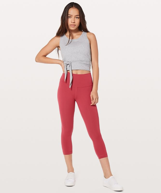 Wunder Under High-Rise Crop *F Full-On® Luxtreme