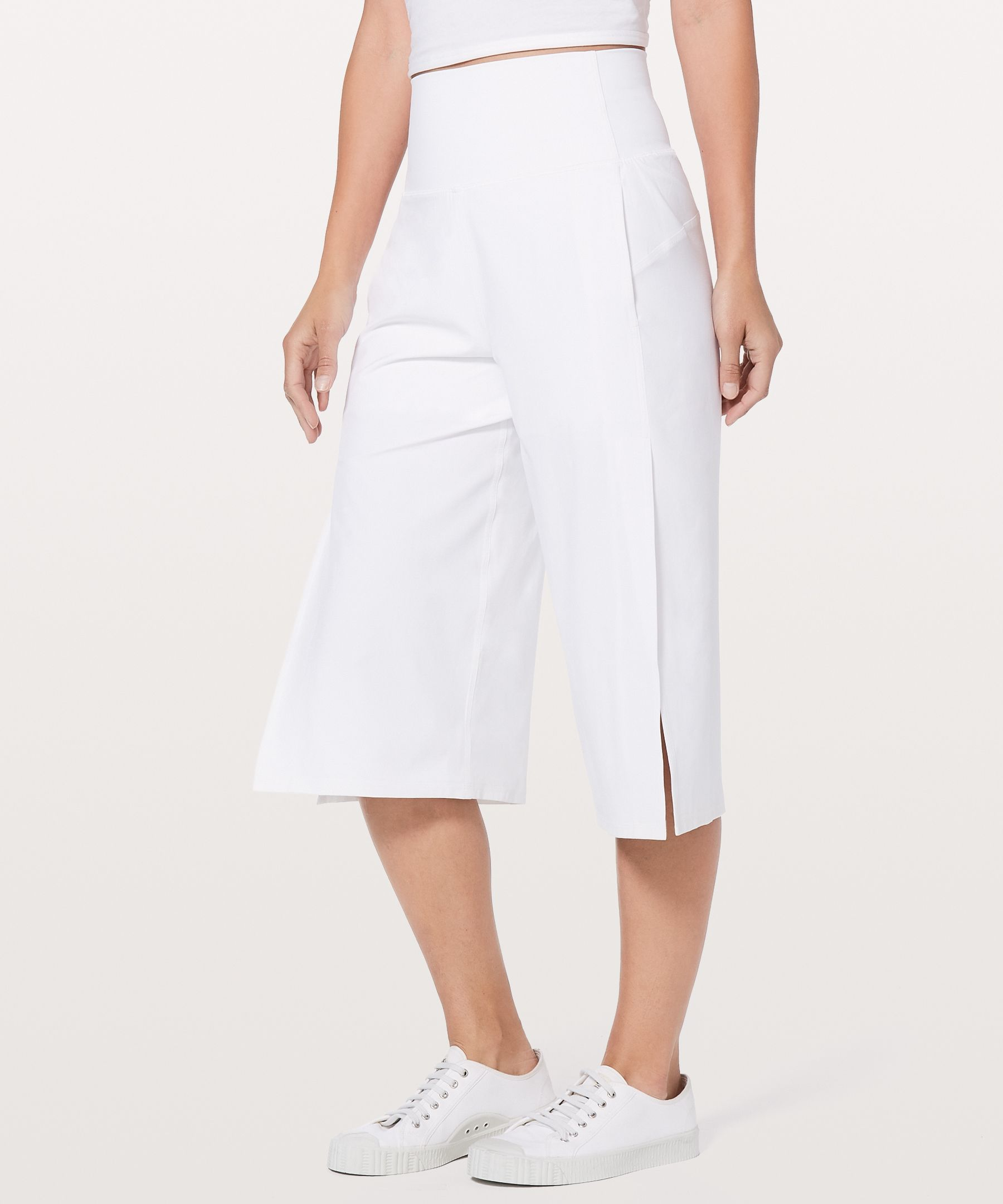 "Serene Crop Lined 19"" by Lululemon"