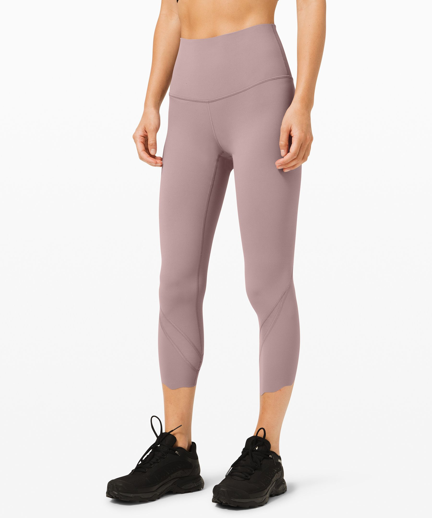 Wunder Under Crop High-Rise Roll Down Scallop Full-On Luxtreme 23
