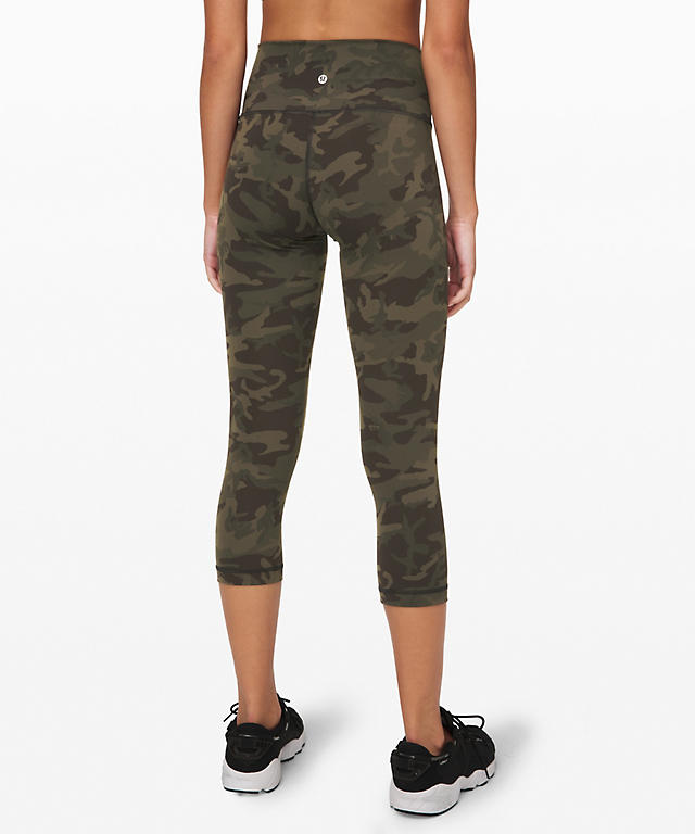 a1cd5a68cf women's lululemon. Fast & Free 7/8 Tight II Nulux 25 ... Incognito Camo  Multi Gator Green Wunder Under Crop (High-Rise) Full-On ..
