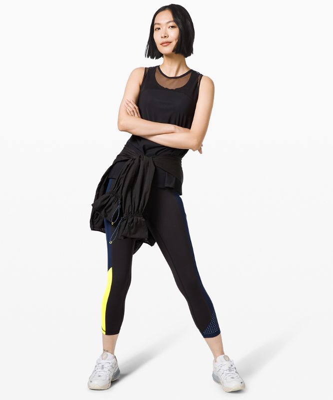 Break New Ground Crop *lululemon x Roksanda