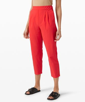 Your True Trouser High Rise Crop