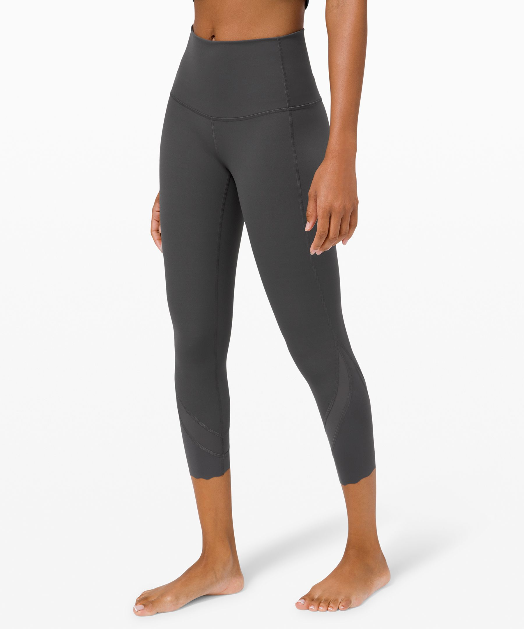 Wunder Under High-Rise Crop 23 Updated Scallop Full-On Luxtreme