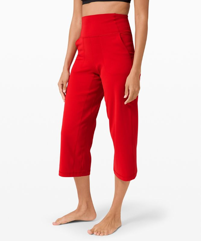 "lululemon Align™ Wide Leg Crop 23"""