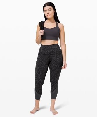 """Wunder Under High-Rise Crop 23"""" *Updated Scallop Full-On Luxtreme"""