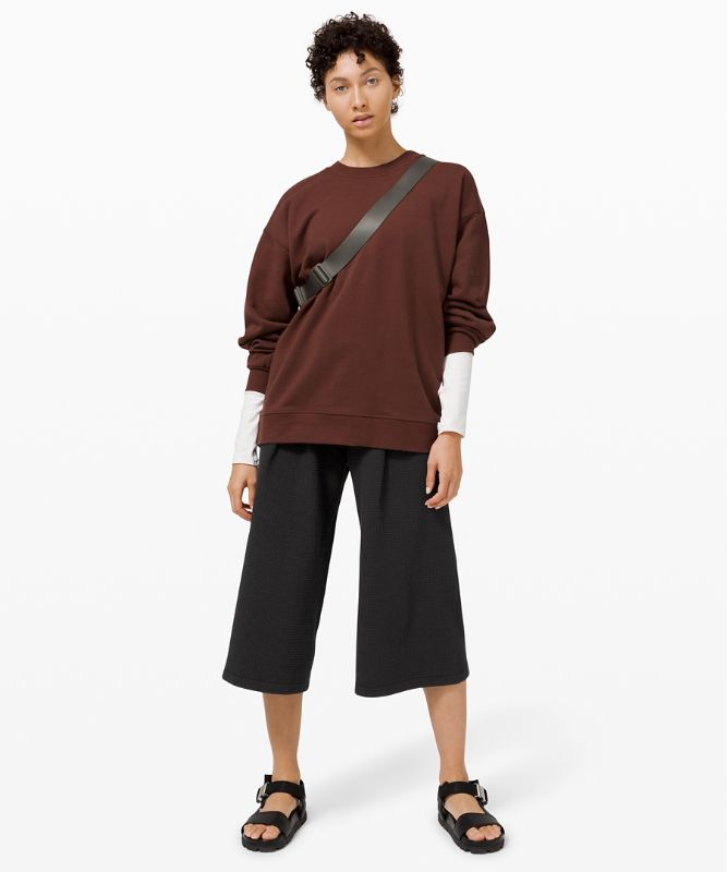 Can you Feel the Pleat Crop