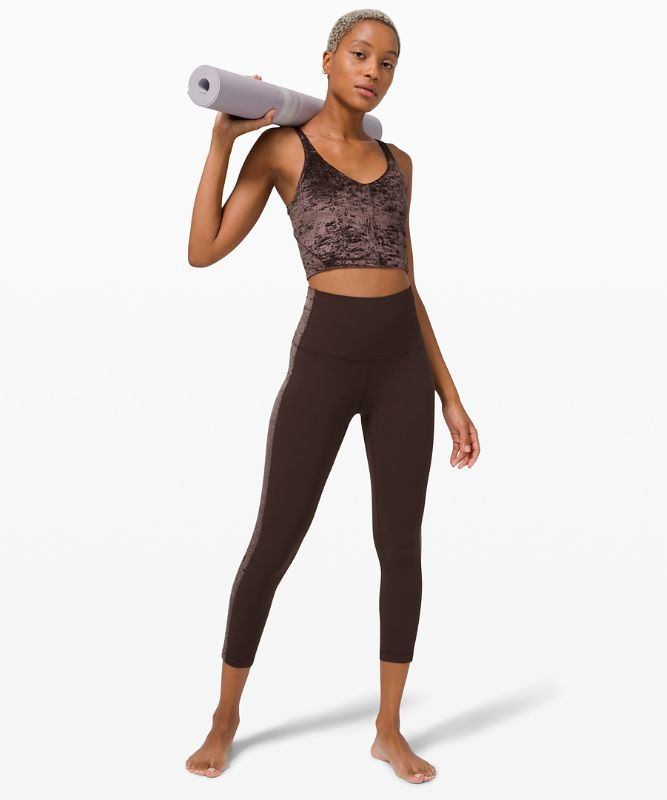 Align Super High-Rise Crop *Crushed Velvet
