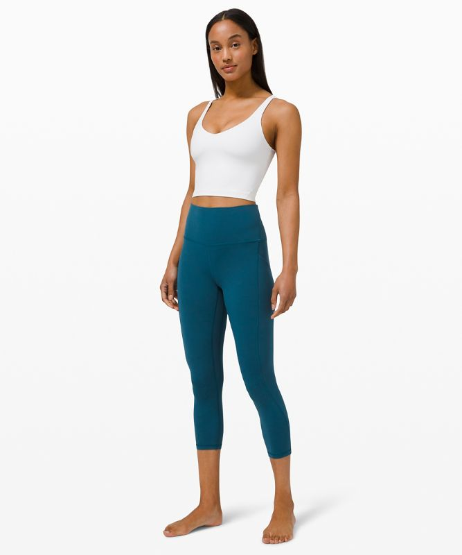 "Align High-Rise Crop 23"" with Pockets"