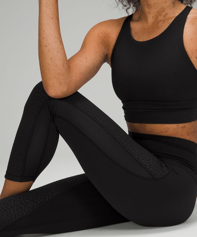 """Nulu™ and Mesh Mid-Rise Yoga Crop 23"""""""
