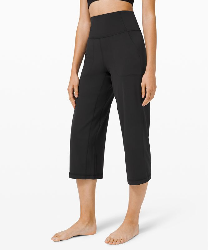 "lululemon Align™ Wide Leg Super-High-Rise Crop *23"""